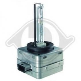 DIEDERICHS Glühlampe, Hauptscheinwerfer 9600093 für AUDI A4 (8E2, B6) 1.9 TDI ab Baujahr 11.2000, 130 PS
