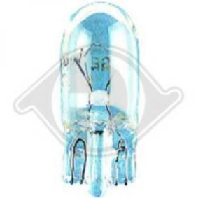 DIEDERICHS Glühlampe, Kennzeichenleuchte 9500083 für AUDI COUPE (89, 8B) 2.3 quattro ab Baujahr 05.1990, 134 PS