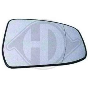 Mirror Glass, outside mirror with OEM Number 6S6117K740AA
