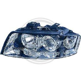 Hauptscheinwerfer für Fahrzeuge mit Leuchtweiteregelung (elektrisch), für Rechtsverkehr mit OEM-Nummer 8K0 941 004 C