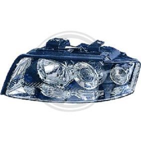 Hauptscheinwerfer für Fahrzeuge mit Leuchtweiteregelung (elektrisch), für Rechtsverkehr mit OEM-Nummer N 107 218 01