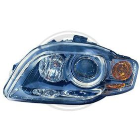 Headlight for vehicles with headlamp levelling, for vehicles without bend lighting with OEM Number 8E0941003AM