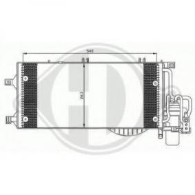 Kondensator, Klimaanlage mit OEM-Nummer 13126764