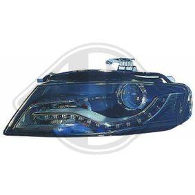 Hauptscheinwerfer für Fahrzeuge mit Kurvenlicht, für Fahrzeuge mit Leuchtweiteregelung mit OEM-Nummer N 107 21801