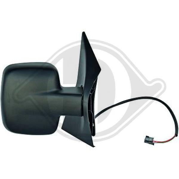 Mercedes retrovisores izquierda Vito 638 calefactable eléctricamente ajustable a6388100616
