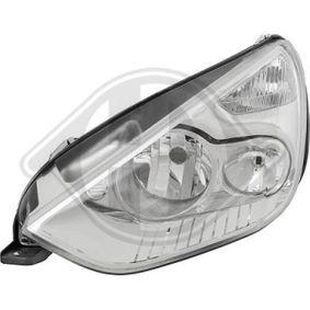 Hauptscheinwerfer für Fahrzeuge mit Leuchtweiteregelung (elektrisch), für Rechtsverkehr mit OEM-Nummer 1 438 494