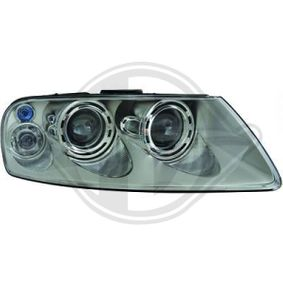 Headlight for vehicles with headlamp levelling (electric), for right-hand traffic with OEM Number 7L6941016AP