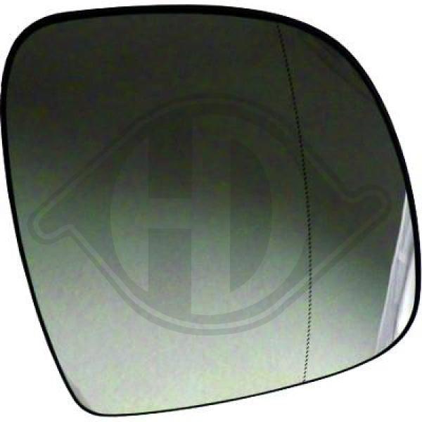 DIEDERICHS  1666027 Spiegelglas, Außenspiegel