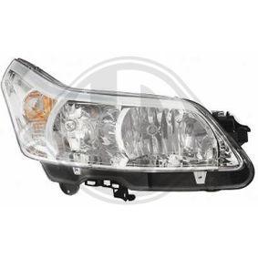 DIEDERICHS  4072980 Faro principal para vehículos con regulación del alcance de luces