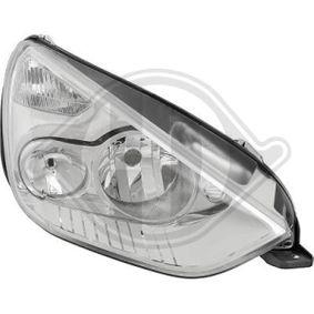 DIEDERICHS  1491980 Hauptscheinwerfer für Fahrzeuge mit Leuchtweiteregelung (elektrisch), für Rechtsverkehr