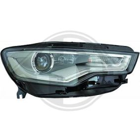 Hauptscheinwerfer für Fahrzeuge mit Xenon-Licht, für Fahrzeuge mit Kurvenlicht, für Rechtsverkehr, für Linksverkehr mit OEM-Nummer N10 721 805