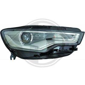 Hauptscheinwerfer für Fahrzeuge mit Xenon-Licht, für Fahrzeuge mit Kurvenlicht, für Rechtsverkehr, für Linksverkehr mit OEM-Nummer N 107 218 01