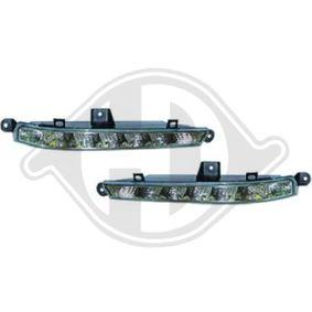 Zestaw reflektorów do jazdy dziennej 1647488 MERCEDES-BENZ Klasa S Sedan (W221)