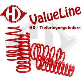 Fahrwerkssatz VW PASSAT Variant (3B6) 1.9 TDI 130 PS ab 11.2000 DIEDERICHS Fahrwerksatz, Federn (99957338) für