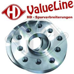 DIEDERICHS HD Tuning 7780018 Spurverbreiterung Lochanzahl: 4, Spurverbreiterung pro Achse: 40mm