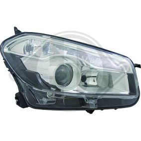 2009 Nissan Qashqai j10 1.6 Headlight 6045981