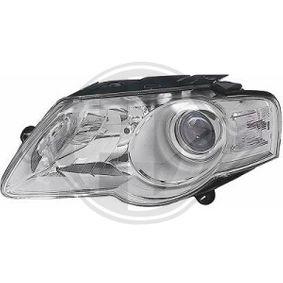 DIEDERICHS  2247981 Главен фар за автомобили с регулиране на светлините
