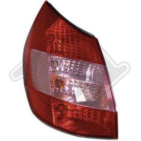 Renault Scenic 2 2.0 (JM05, JM0U, JM1N, JM1U, JM2V) Heckleuchte DIEDERICHS 4464491 (2.0 Benzin 2006 F4R 771)
