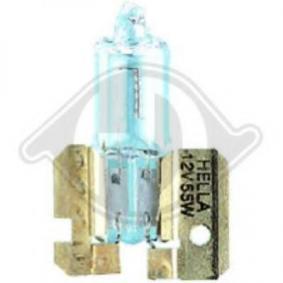 Крушка с нагреваема жичка, фар за дълги светлини H2, 55ват, 12волт, халогенен 9600082 VW GOLF, JETTA