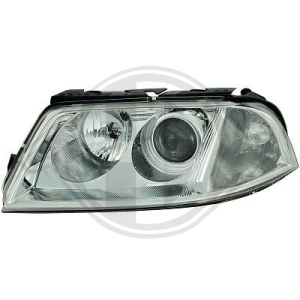 DIEDERICHS  2246981 Преден фар за автомобили с регулиране на светлините