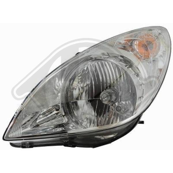 DIEDERICHS  6806081 Главен фар за автомобили с регулиране на светлините (електрическо), за дясно движение