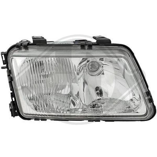 DIEDERICHS  1030980 Главен фар за автомобили с регулиране на светлините