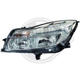 Hauptscheinwerfer für Fahrzeuge mit Leuchtweiteregelung (elektrisch), für Rechtsverkehr mit OEM-Nummer 12 16 740