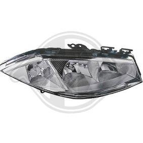 Hauptscheinwerfer für Fahrzeuge mit Leuchtweiteregelung (elektrisch), für Rechtsverkehr mit OEM-Nummer 260108053R