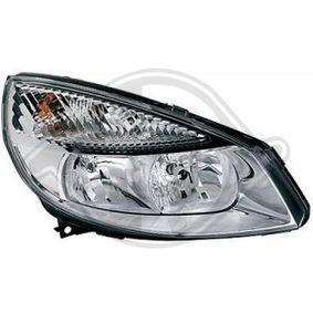Renault Scenic 2 2.0 (JM05, JM0U, JM1N, JM1U, JM2V) Heckleuchte DIEDERICHS 4464490 (2.0 Benzin 2008 F4R 771)
