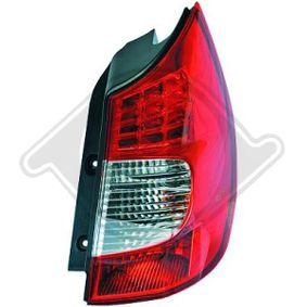 Renault Scenic 2 1.6 16V (JM1R) Heckleuchte DIEDERICHS 4464792 (1.6 16V Benzin 2008 K4M 812)