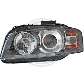 Hauptscheinwerfer für Fahrzeuge mit Leuchtweiteregelung mit OEM-Nummer N 105 661 03