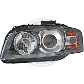 Headlight for vehicles with headlamp levelling with OEM Number N 105 661 03