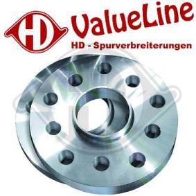 DIEDERICHS HD Tuning 7780001 Spurverbreiterung Spurverbreiterung pro Achse: 10mm
