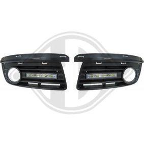 Jogo de luzes de circulação diurna 2232488 VW GOLF, JETTA