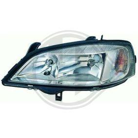 Hauptscheinwerfer für Fahrzeuge mit Leuchtweiteregelung mit OEM-Nummer 09117304