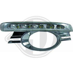 Zestaw reflektorów do jazdy dziennej 1672388 MERCEDES-BENZ Klasa C Sedan (W204)