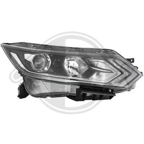 DIEDERICHS Side view mirror Right, Complete Mirror, Electronically foldable, for electric mirror adjustment, Heatable, Grained