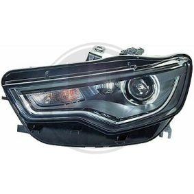 Hauptscheinwerfer für Fahrzeuge mit Xenon-Licht, für Fahrzeuge mit Kurvenlicht, für Rechtsverkehr, für Linksverkehr mit OEM-Nummer N 107 218 05