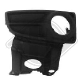Ventilation Grille, bumper 3434048 PANDA (169) 1.2 MY 2012