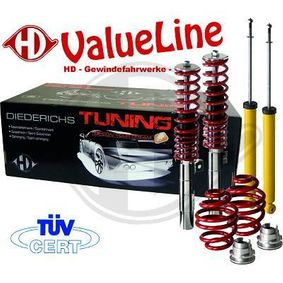 Suspension Kit, coil springs / shock absorbers 9999252 PUNTO (188) 1.2 16V 80 MY 2006