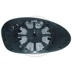 Mirror Glass, outside mirror with OEM Number 51 16 7 145 268