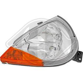 DIEDERICHS  1460083 Hauptscheinwerfer für Fahrzeuge mit Leuchtweiteregelung (elektrisch)