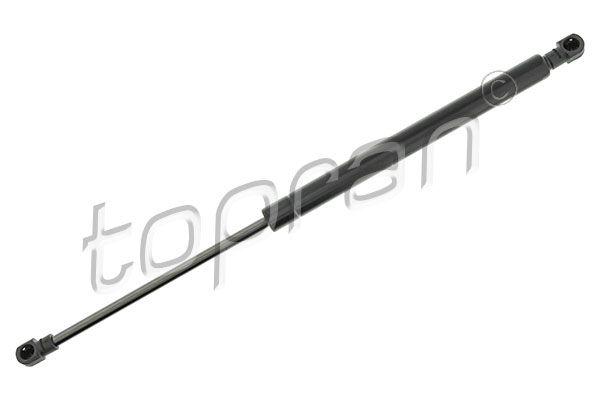 TOPRAN  700 712 Gas Spring, boot- / cargo area Length: 417mm, Stroke: 165mm, Length: 417mm
