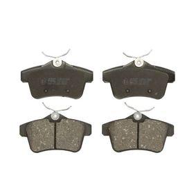 2010 Peugeot 308 Mk1 1.6 GTi Brake Pad Set, disc brake C2P007ABE