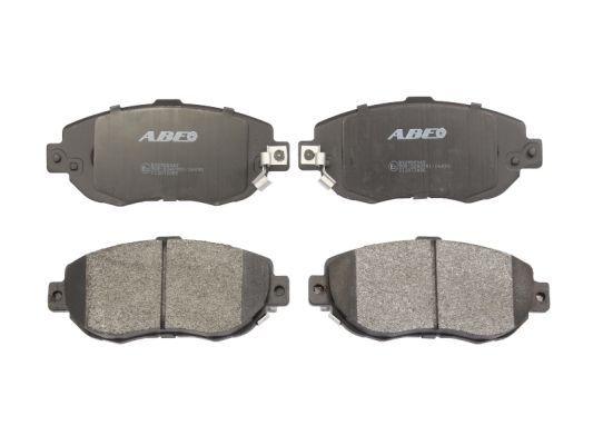 ABE  C12072ABE Bremsbelagsatz, Scheibenbremse Breite 1: 59,5mm, Dicke/Stärke 2: 17mm