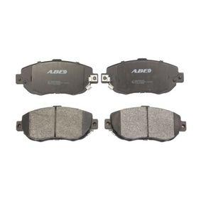 Bremsbelagsatz, Scheibenbremse Breite 2: 59,5mm, Dicke/Stärke 2: 17mm mit OEM-Nummer 04465 30320