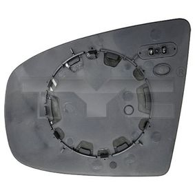 Mirror Glass, outside mirror with OEM Number 51 16 7 174 980