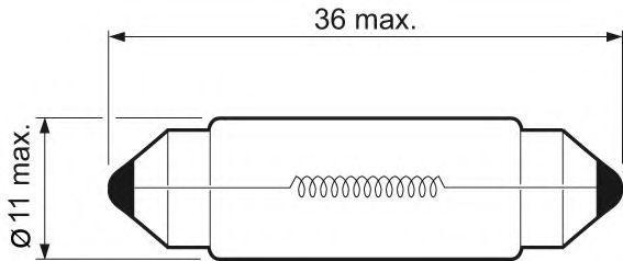 Glühlampe, Kennzeichenleuchte VALEO 32217 Bewertung