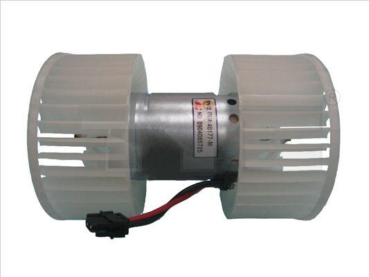TYC  503-0001 Innenraumgebläse Spannung: 13,5V, Nennleistung: 378W, Anschlussanzahl: 2
