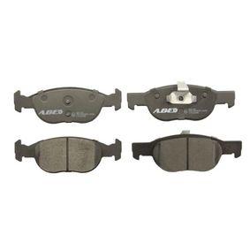 Brake Pad Set, disc brake C1F022ABE PUNTO (188) 1.2 16V 80 MY 2002